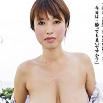 真希(仮)30歳 垂れ爆乳のエロ顔美女『熟女色情旅#001』